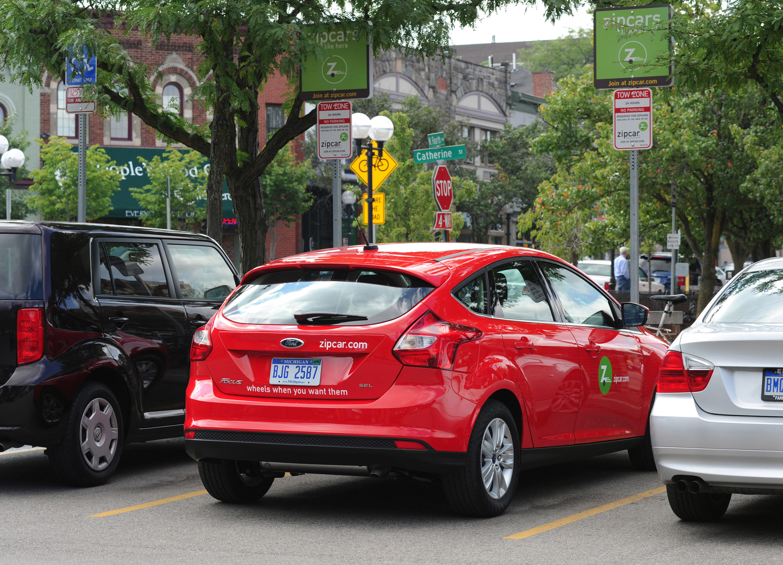 Zipcar marketing strategy with universities
