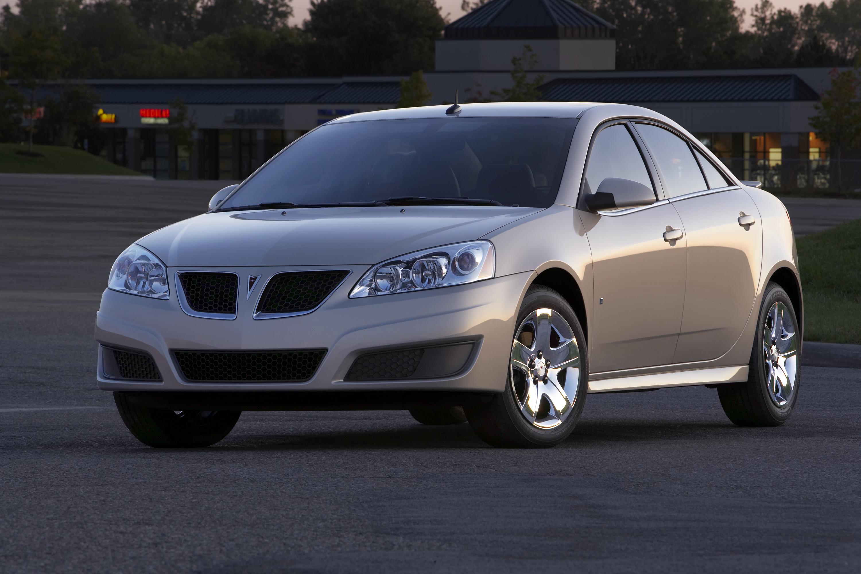 2009.5 Pontiac G6 Sedan