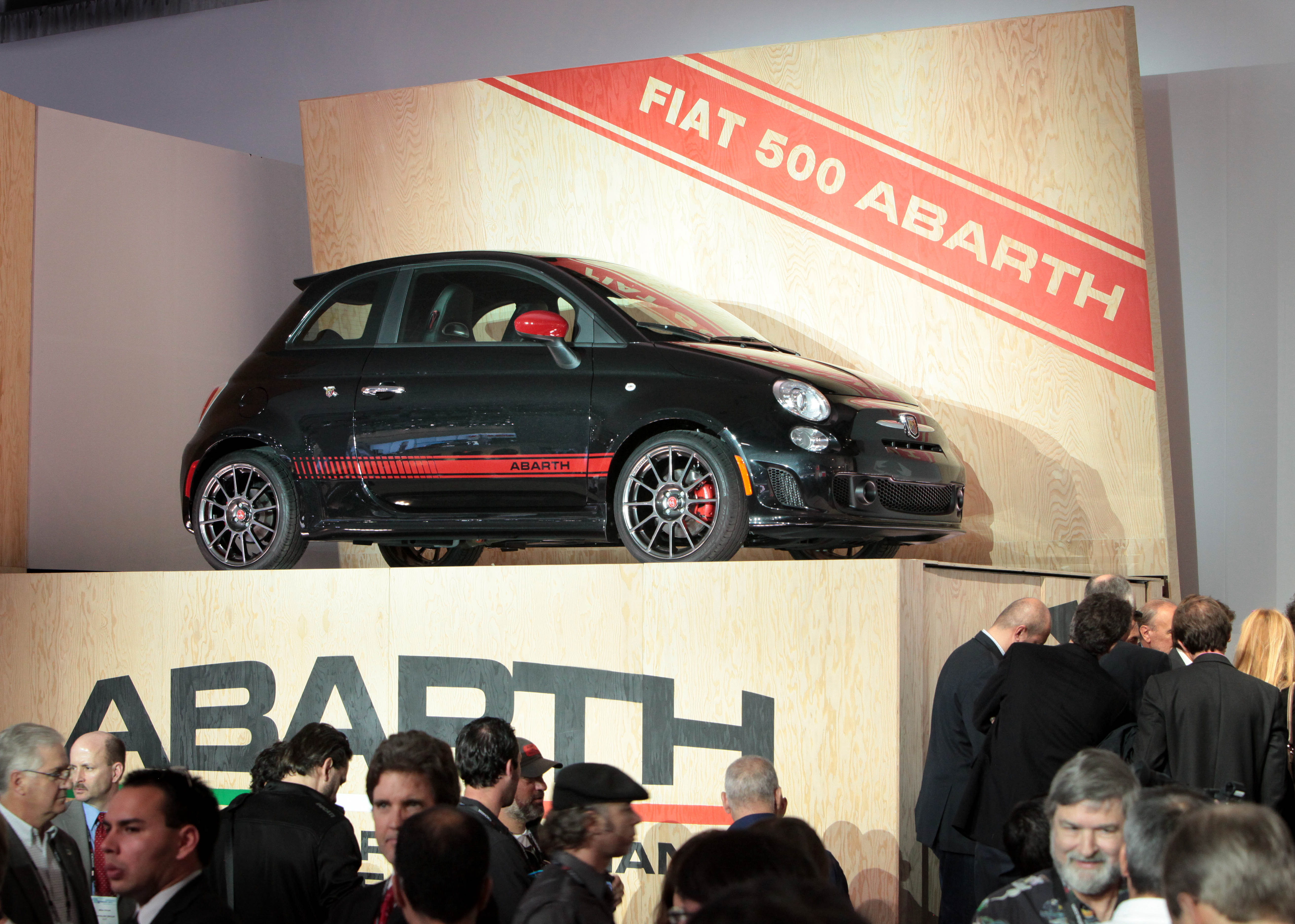 2012 Fiat 500 Abarth Debut