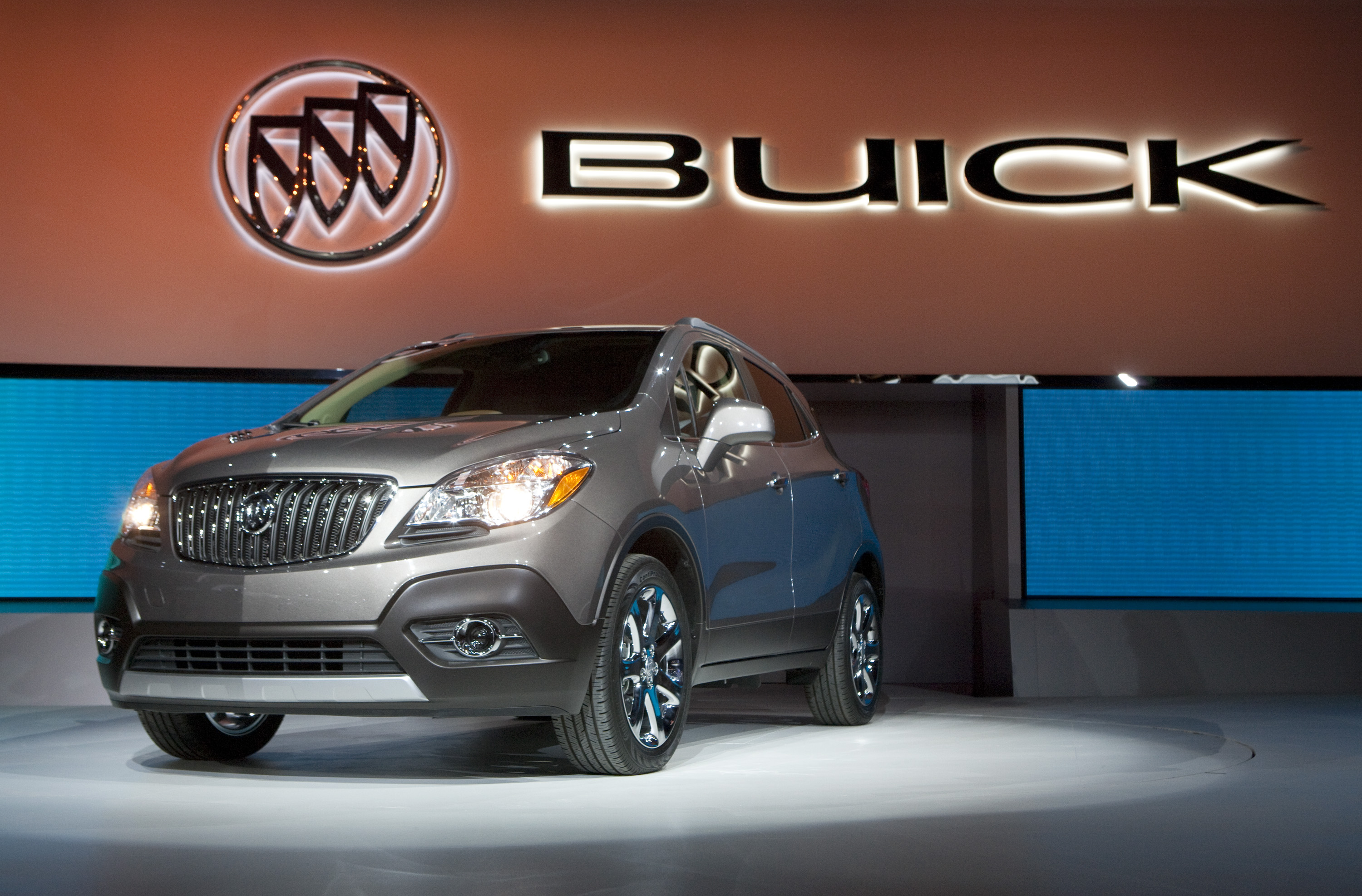 2013 Buick Encore Revealed at 2012 NAIAS
