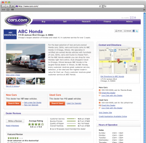 Dealers Cars Com >> Cars Com Introduces All New Online Advertising Package Features For