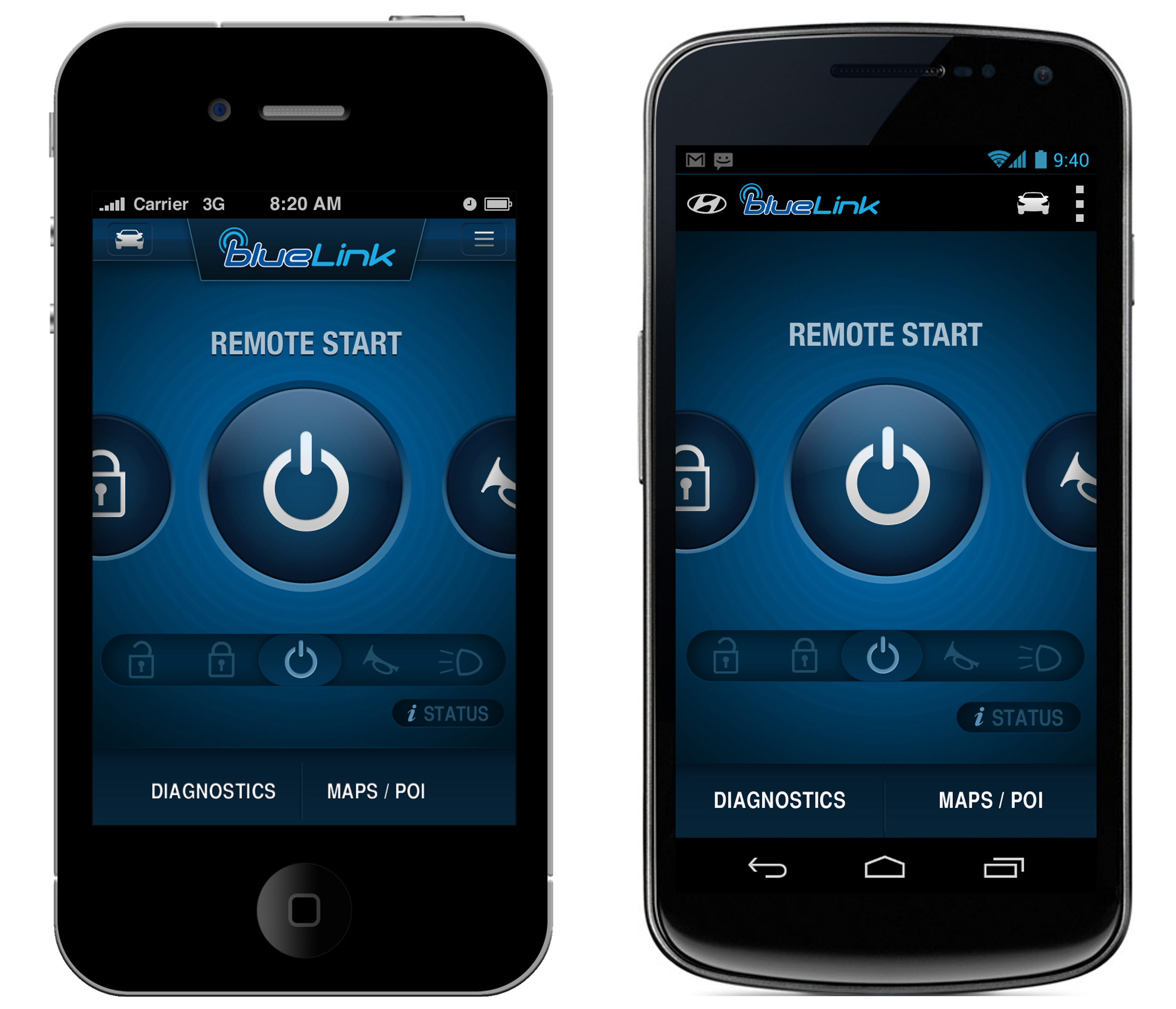 Hyundai Launches All New Blue Link Mobile Application