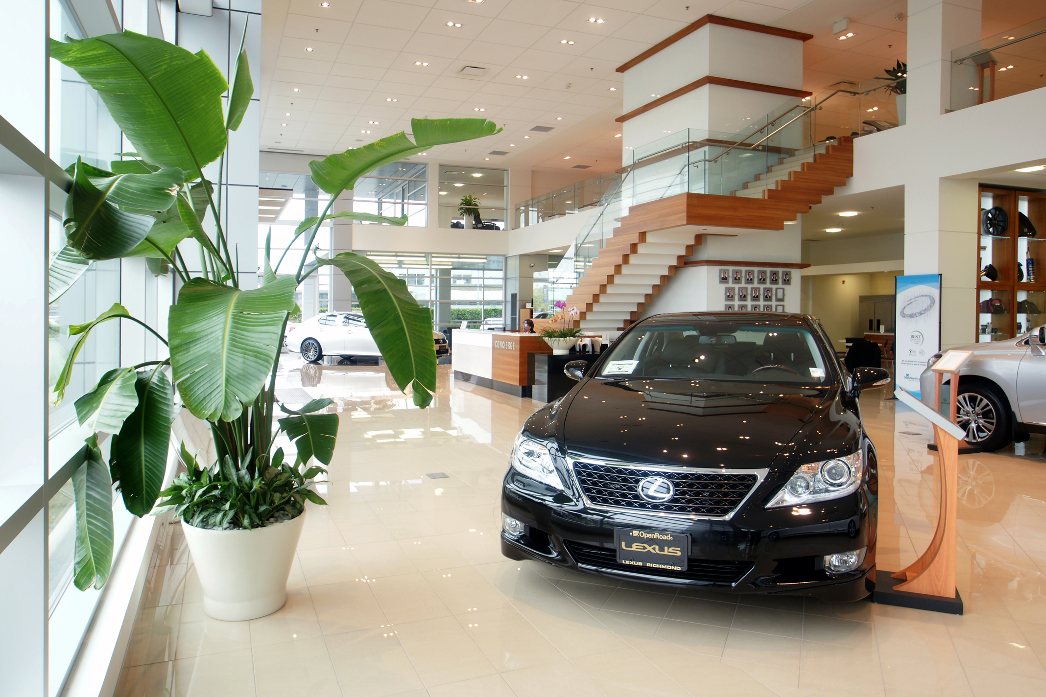 Car Dealership Interior Design