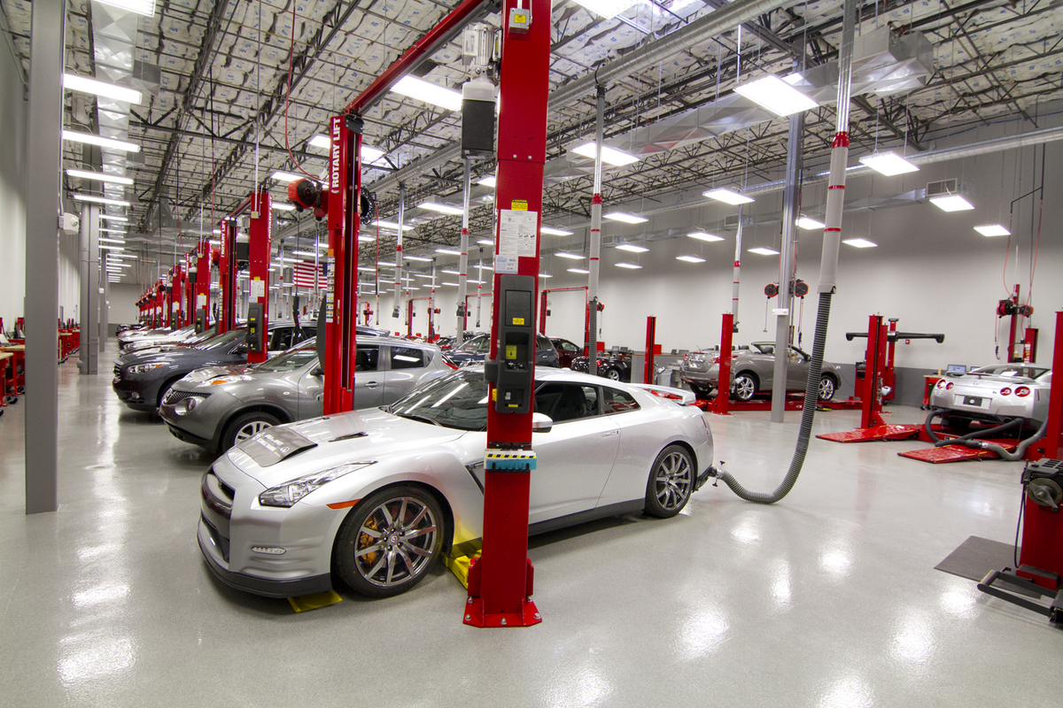 Nissan And Infiniti S Largest Training Center Opens To