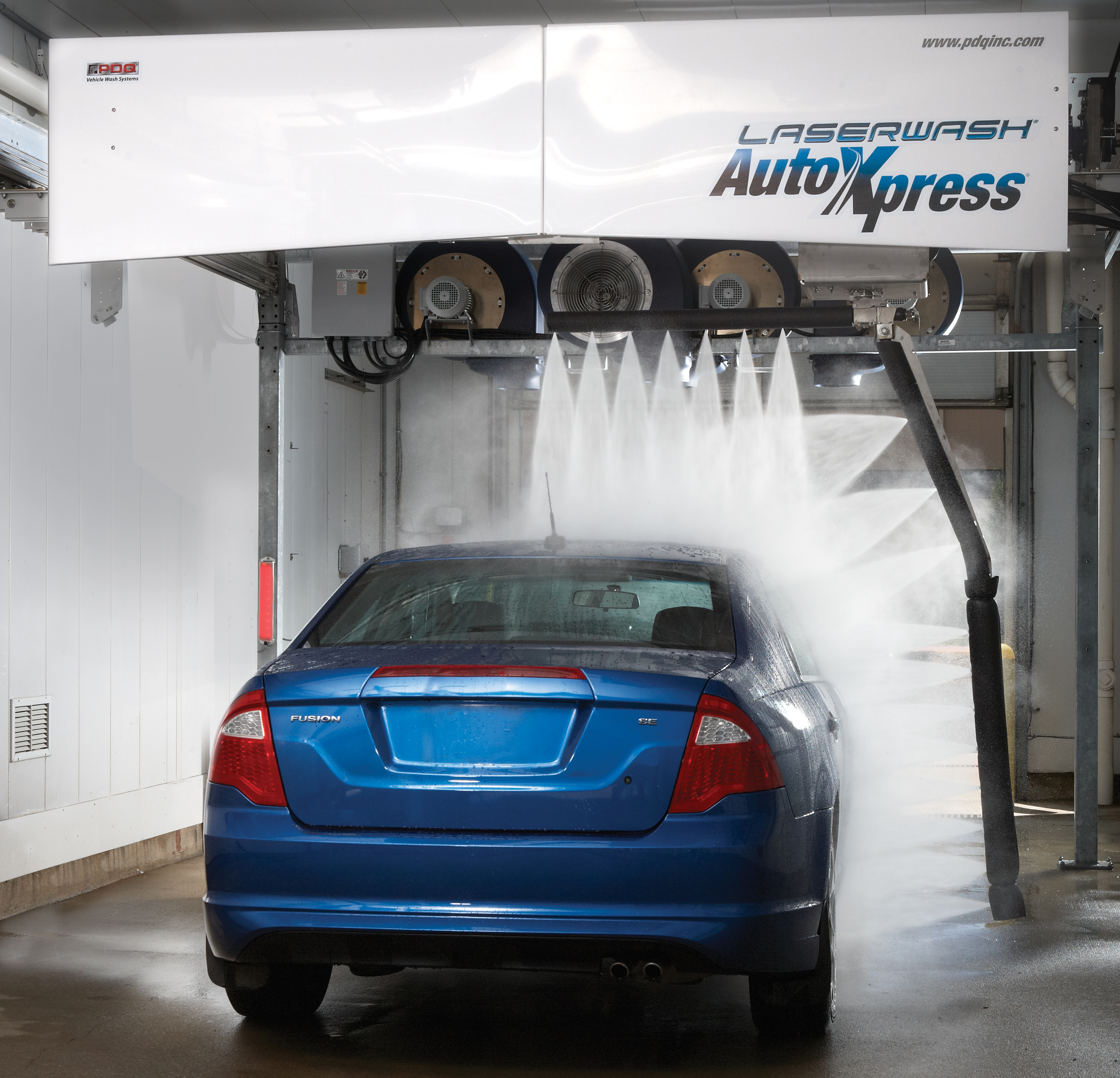 In Bay Automatic Car Wash