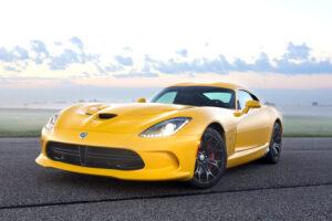 Pre-production 2013 SRT Viper model at Gingerman Raceway, Sept.