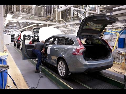Volvo Car Corporation Announces Temporary Stand Still At Auto Plant