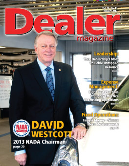 interview with david westcott 2013 nada chairman david westcott buick gmc suzuki digital dealer digital dealer