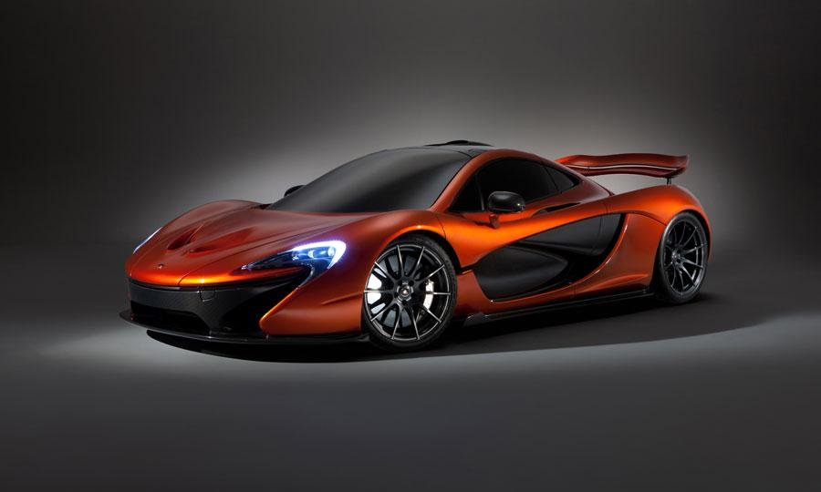 McLaren-P1-front-three-quarter-Paris-motor-show