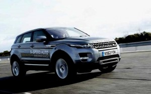 9-Speed Land Rover Evoque 2013