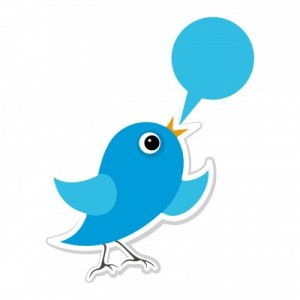 Twitter Bird Says Tweet