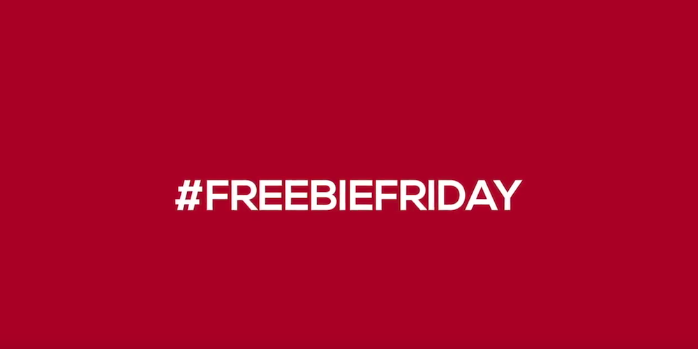 #FreebieFridays – Pay it Backwards (VIDEO)